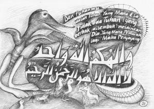 Yang Maha Esa karya Abd. Aziz Ahmad, 2013